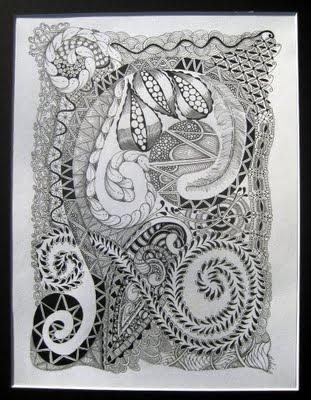 zendoodle, zentangle, art, doodle, drawing