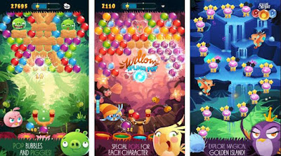 Download Angry Birds Stella POP Mod