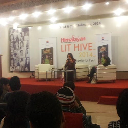 Tisca Chopra and Shubhra at Lut Hive 2014