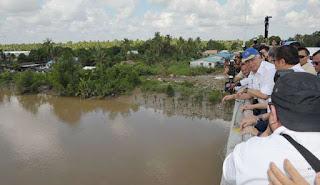 Penembu Jematan Batang Sadong meri '1001' berekat ngagai mensia mayuh