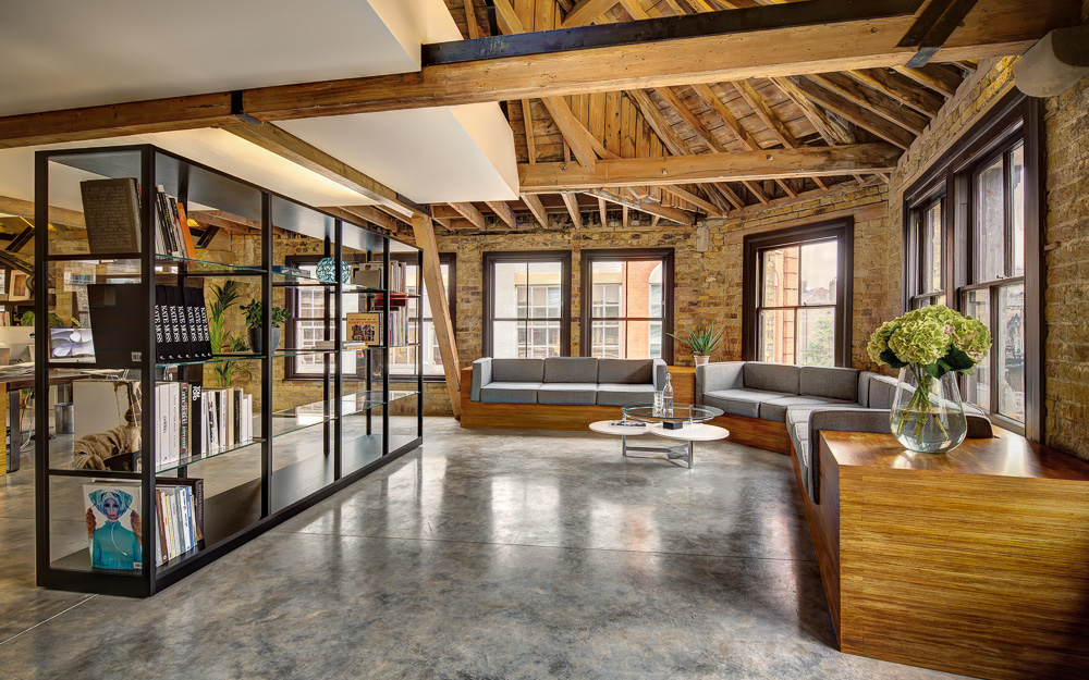 MAD Agency Attic Office By DOS Architects Old Street