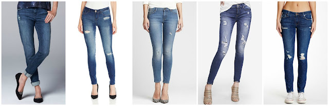 Simply Vera Wang Skinny Boyfriend Jeans $35.00 (regular $50.00)  Kensie Jeans Denim Skinny Jean $47.73 (regular $88.00)  Banana Republic Distressed Skinny Ankle Jean $49.99 (regular $98.00) similar  Express Medium Wash Mid Rise Distressed Jean Legging $52.80 (regular $88.00)   Genetic Denim Shya Skinny Jean $64.97 (regular $205.00)