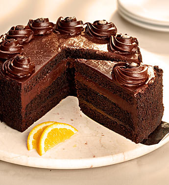 Best Chocolate Cake with Fudge Frosting Recipe 2012