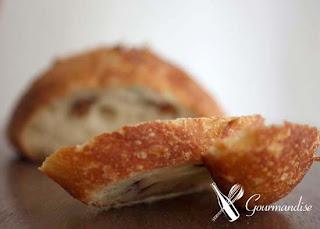 gourmandise pão farinha de kamut levain