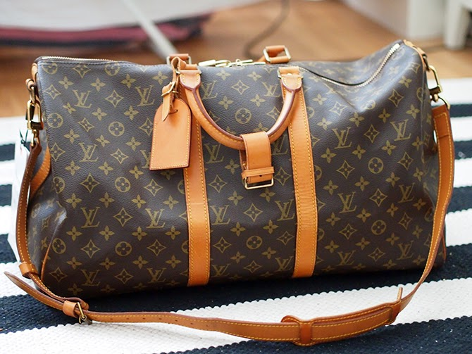 Louis Vuitton Laukku Keskustelu : Life of lotta louis vuitton keepall bandouli?re