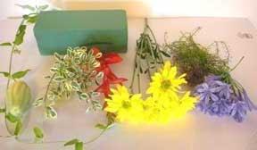 Cắm hoa trang trí phòng khách