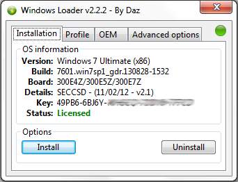 Windows loader 2.2.2
