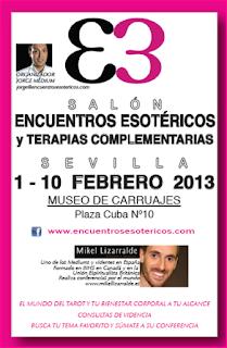 Cartel Encuentros Esotéricos Sevilla
