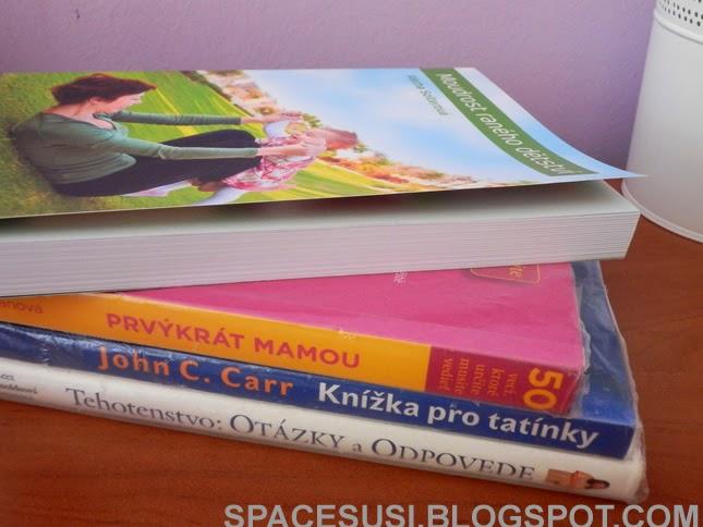 těhotenství, knihy