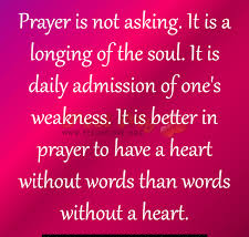 Pray with Heart and Soul