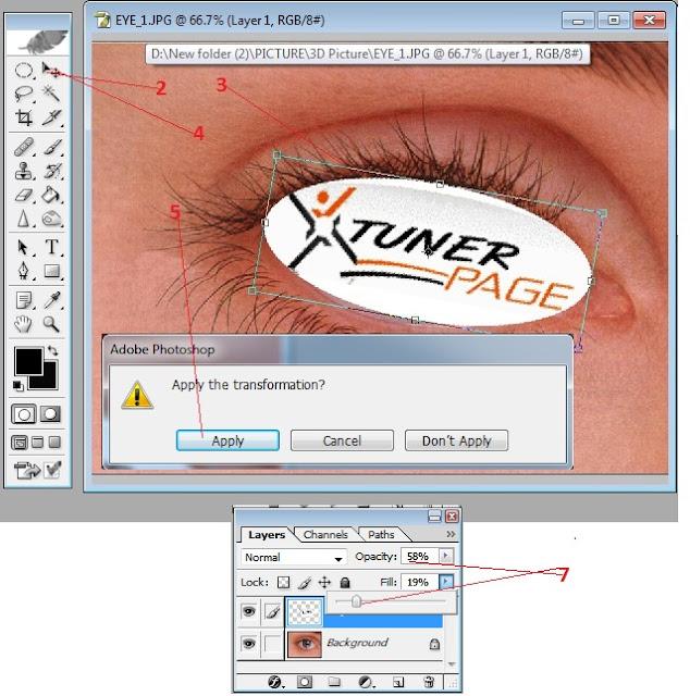 Photoshop টিউটোরিয়াল পর্ব (৯)