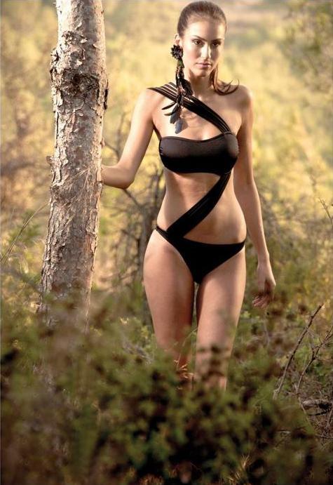 Huda Naccache bikini,Huda Naccache swimwear