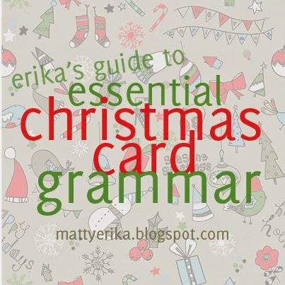 Something Beautiful A Christmas Grammar Intervention