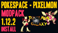 HOW TO INSTALL<br>PokeSpace-Pixelmon Modpack [<b>1.12.2</b>]<br>▽