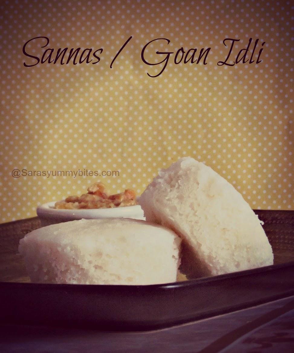 Sannas / Goan Idli