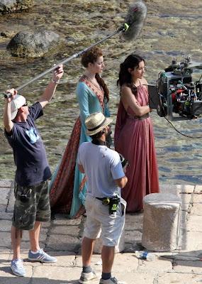 Shae y Ross rodaje tercera temporada Juego de Tronos - Juego de Tronos en los siete reinos