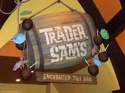 Trader Sam's Enchanted Tiki Bar Disneyland Hotel Disney alchohol