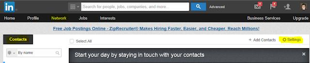export LinkedIn contact list, export LinkedIn email addresses, Linked contacts,