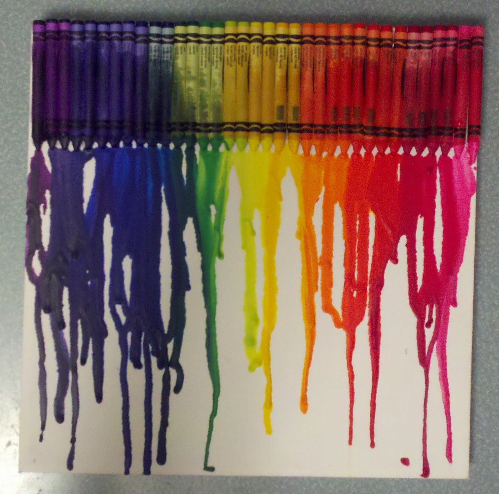 Melted crayon amazing tips for creating melted crayon for Melted crayon art techniques
