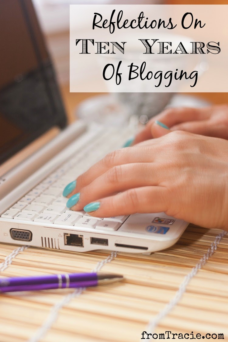 I've been blogging for ten years. See why I started, and why I continue writing about my life online.