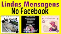 Página no Facebook - Lindas Mensagens