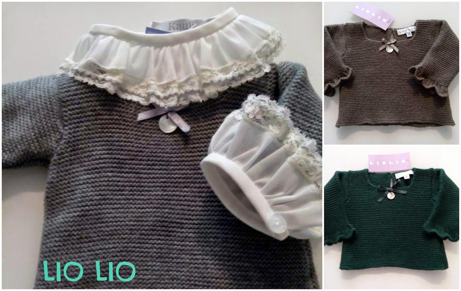 jerseys de punto para bebes de Liolio
