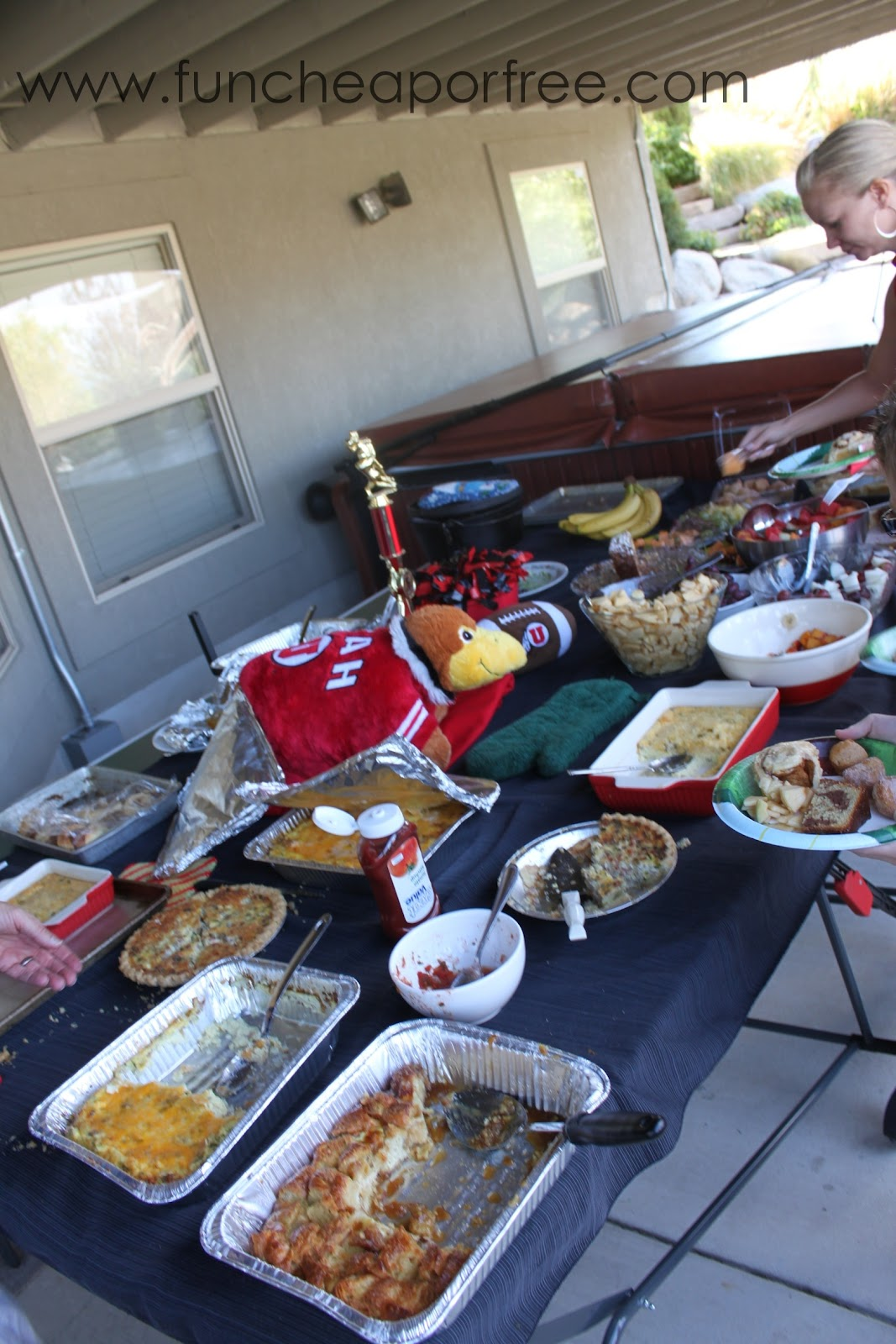 Ideas For A Fun Cheap Or Free FOOTBALL Party Superbowl Homecoming Colleg