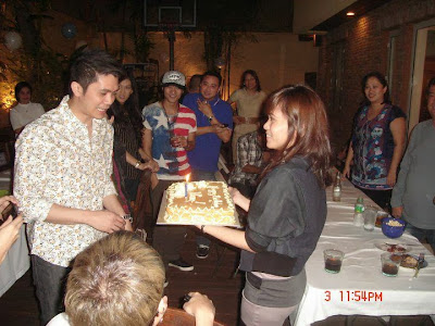 Vhong's celebrates birthday with girlfriend Tanya Winona Bautista