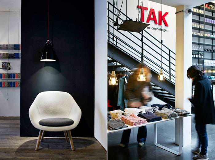 exhibition at Merci store in Paris - TAK, a day in Copenhagen