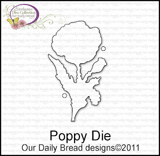 "Our Daily Bread designs ""Poppy Die"""