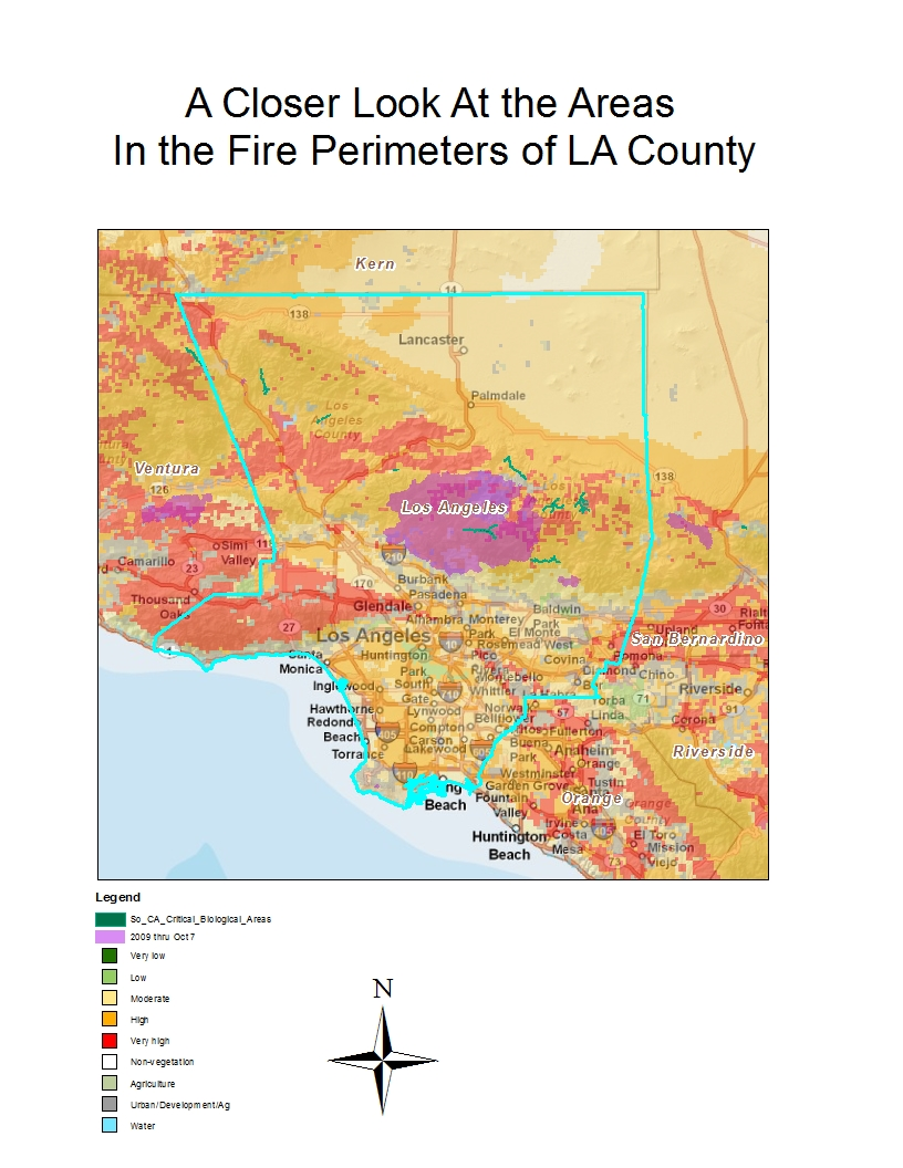 my focus in this mini project is to look into the station fire in la county in august september 2009 specifically i want to look at where are communities