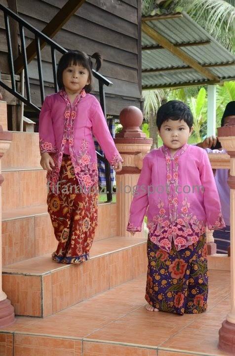 Foto Model Baju Kebaya Anak Kecil