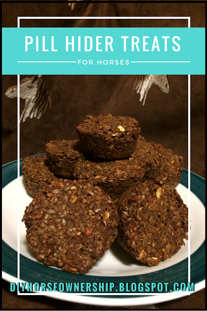 Do It Yourself Horse Ownership -- How to make pill hider horse treats at home