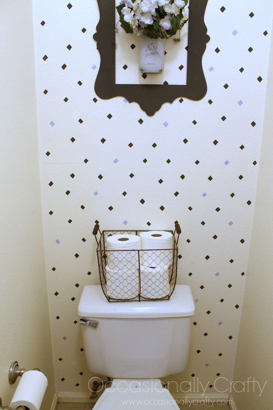 Bathroom refresh with cutting edge stencils and giveaway wednesday july 30 amipublicfo Image collections