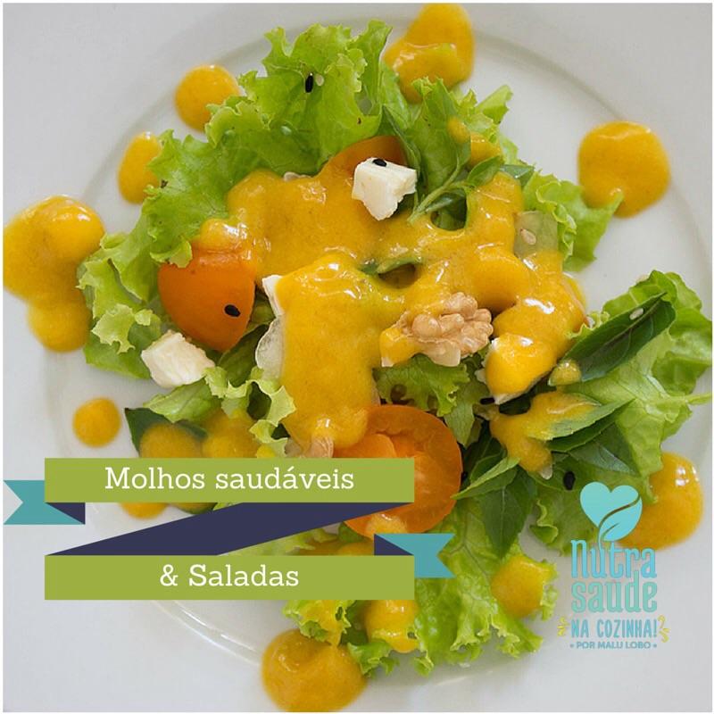 Molhos Saudáveis e saladas