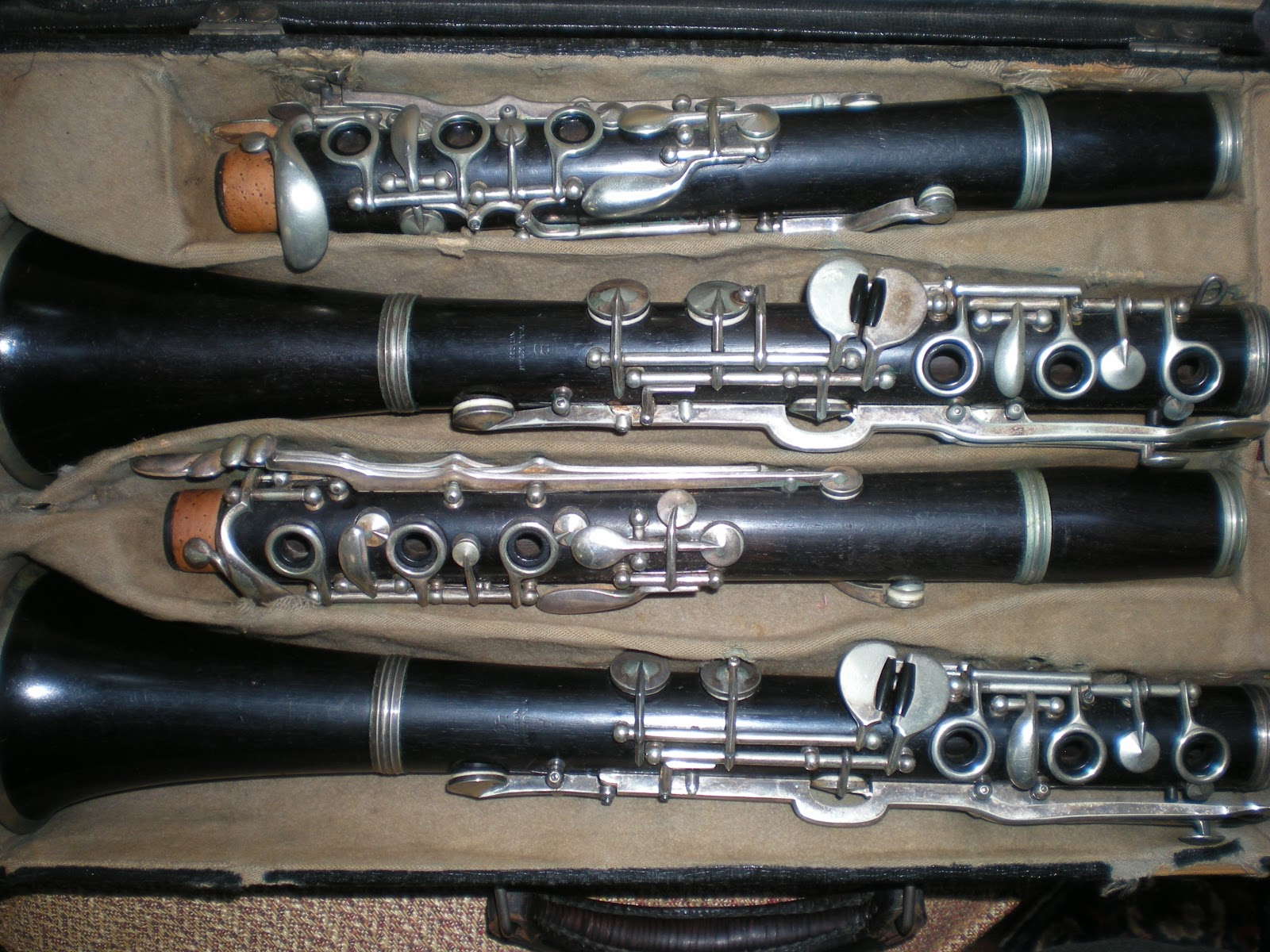 Viktor Polatcheks Two Albert Muller Oehler System Clarinets Manufactured C 1909 By F Koktan And Sons Vienna