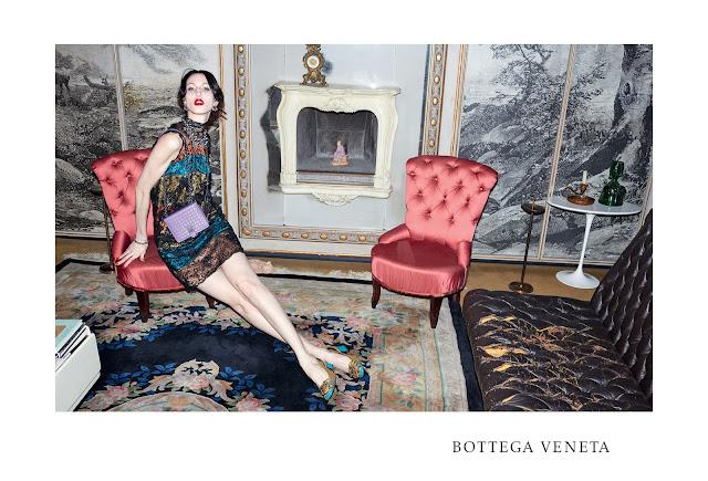 Bottega Veneta's FW15 Ad Campaign by Juergen Teller