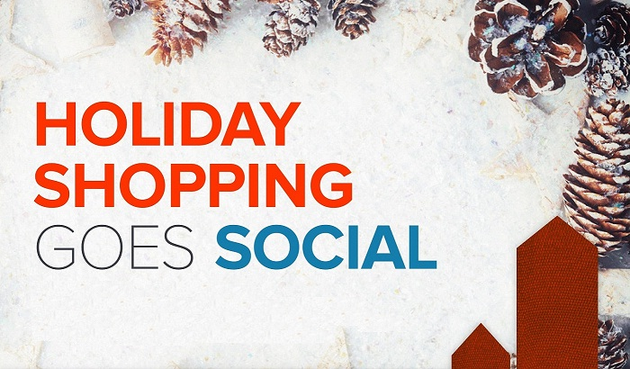 Holiday Shopping Goes Social (But Not so Much on #Twitter) [INFOGRAPHIC]