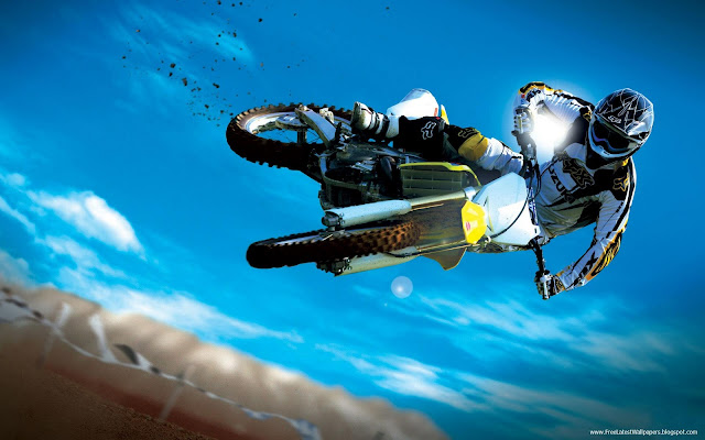 Dangerous Motocross  Stunts HD Wallpapers