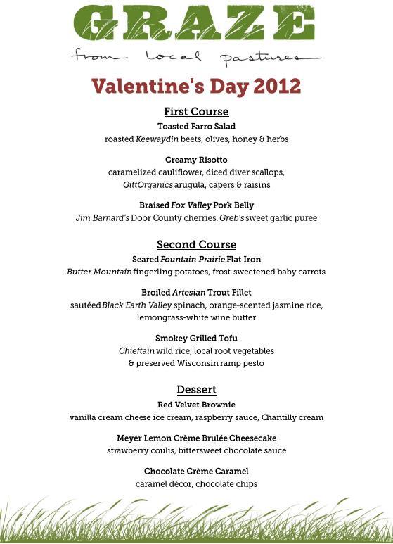 Valentine Day Restaurant Menu – startupcorner.co