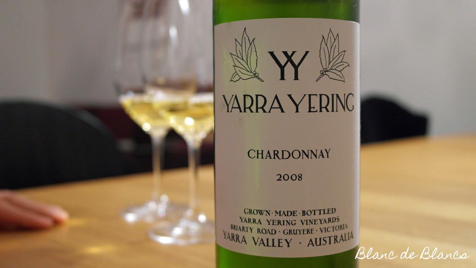 Yarra Yering Chardonnay 2008 - www.blancdeblancs.fi