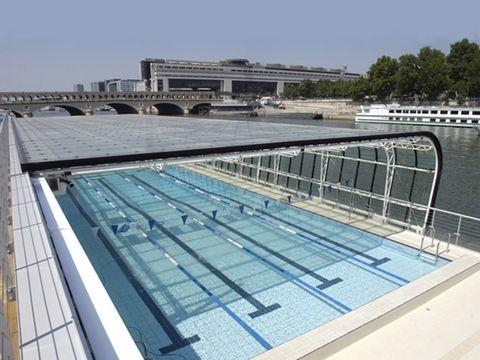 Vis le architecture urbanisme paysage patrimoine for Construction piscine josephine baker