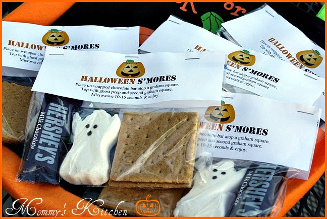 halloween ghost s mores posted on pinterest these s mores literally ...