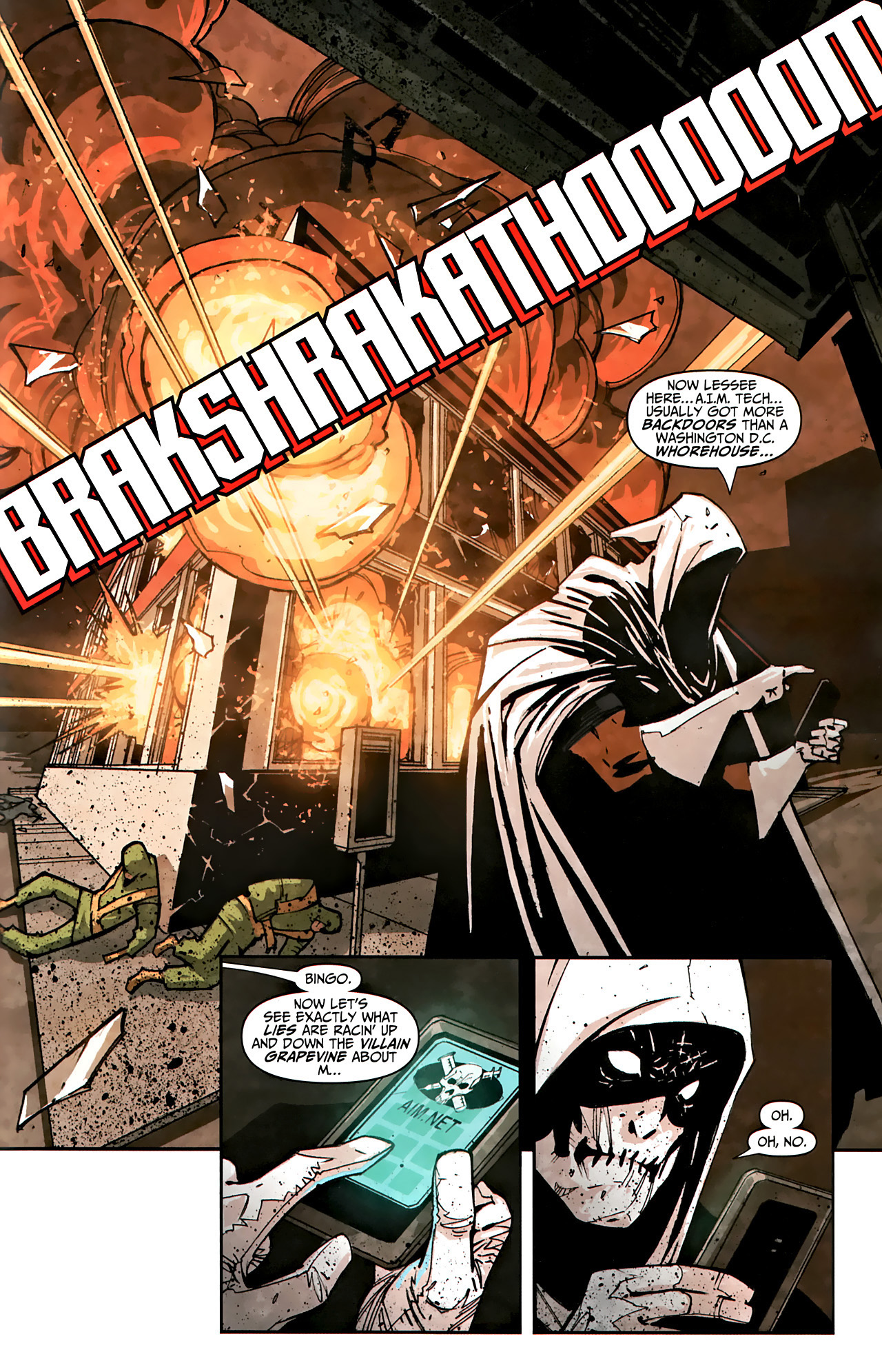 Read online Taskmaster (2010) comic -  Issue #1 - 18