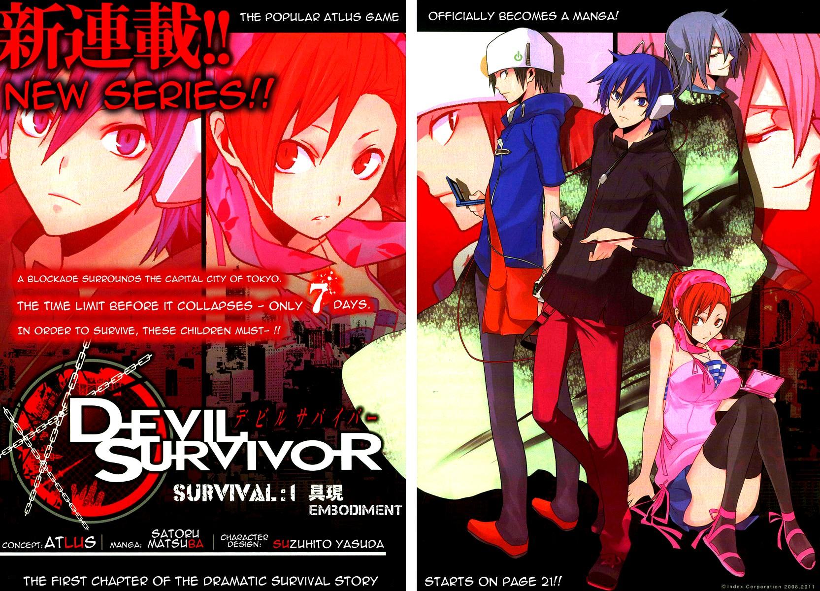 Devil Survivor chap 1 - Trang 1