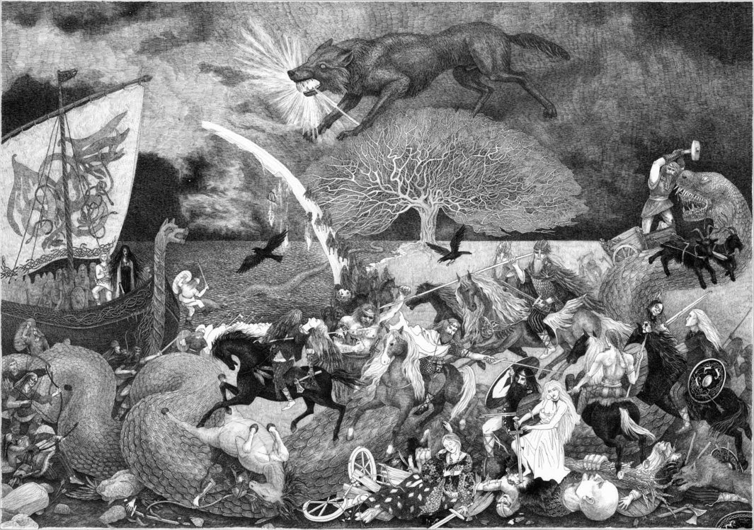 The story of Ragnarok and the Apocalypse