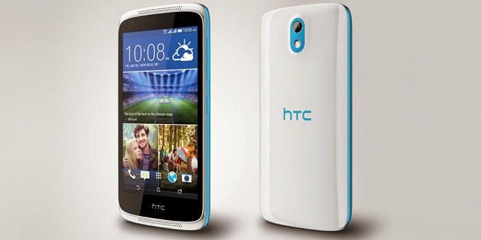 HTC Desire 526G+, Spesifikasi HP Android Terbaru Octa Core RAM 1 GB Harga 2 Jutaan