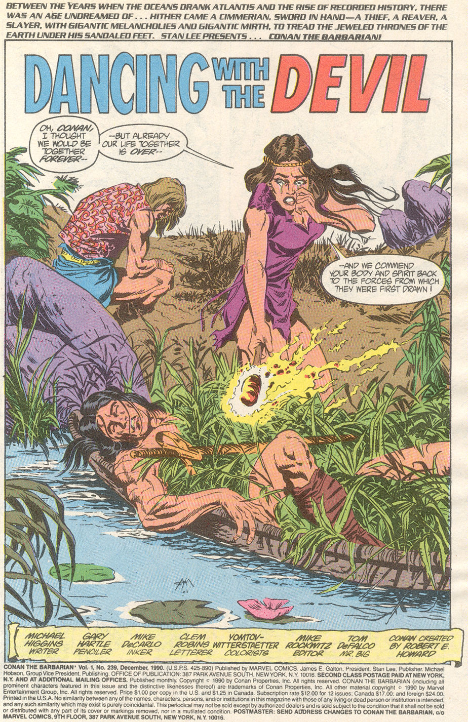 Conan the Barbarian (1970) Issue #239 #251 - English 2