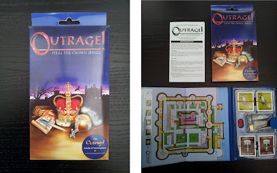 Outrange board game, Tower of London, board game