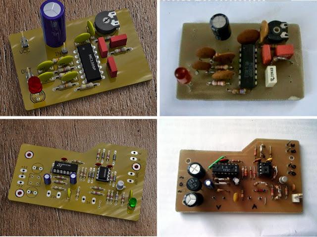 POV-Ray rendered PCB boards vs. real PCB boards